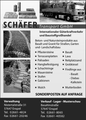 Schäfer Transport GmbH, Enspel