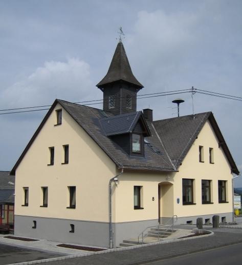 Unser Gästehaus im August 2006